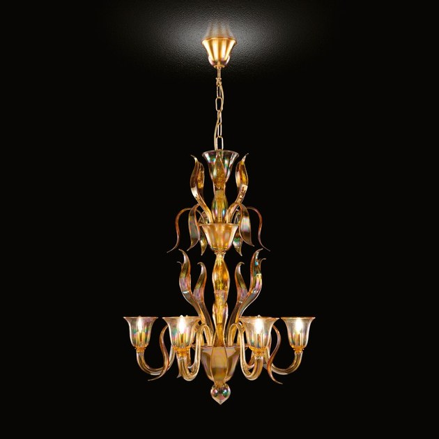 Swing 275 murano glass chandelier by multiforme aloadofball Image collections