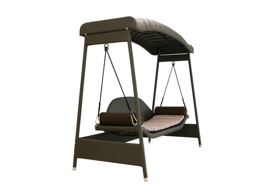 2 Seater garden swing seat SWING | Garden swing seat by Atmosphera