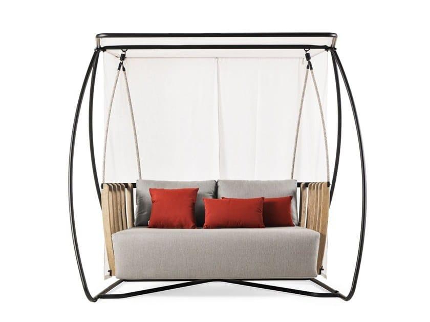 Canopy teak garden swing seat SWING | Garden swing seat by Ethimo  sc 1 st  Archiproducts & SWING | Garden swing seat By Ethimo design Patrick Norguet