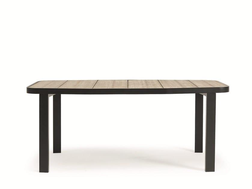 Rectangular Teak Garden Table SWING | Garden Table By Ethimo
