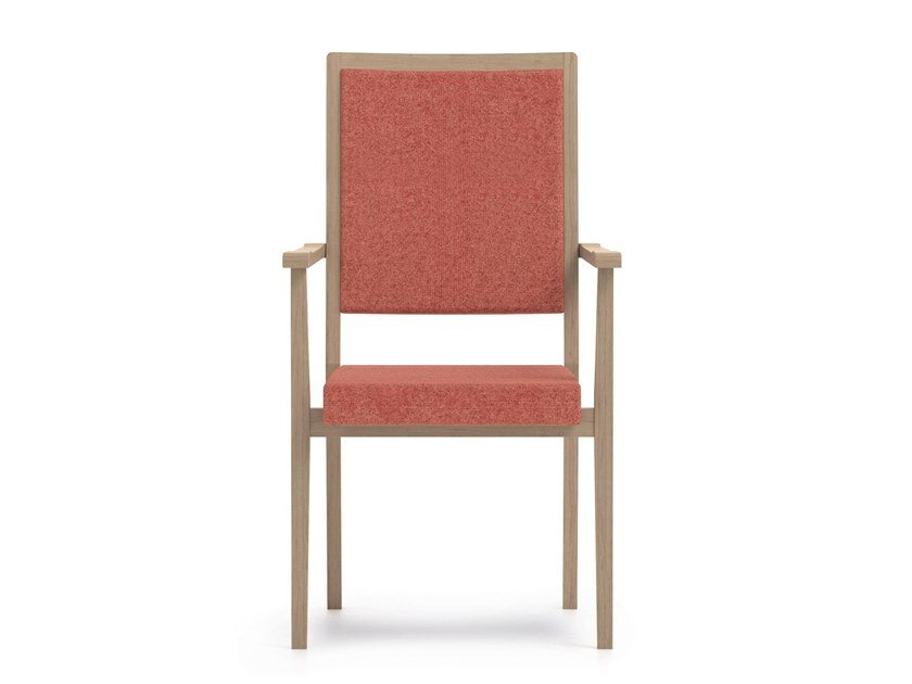 Stackable high-back fabric chair SWING | HEALTH & CARE | High-back chair by PIAVAL