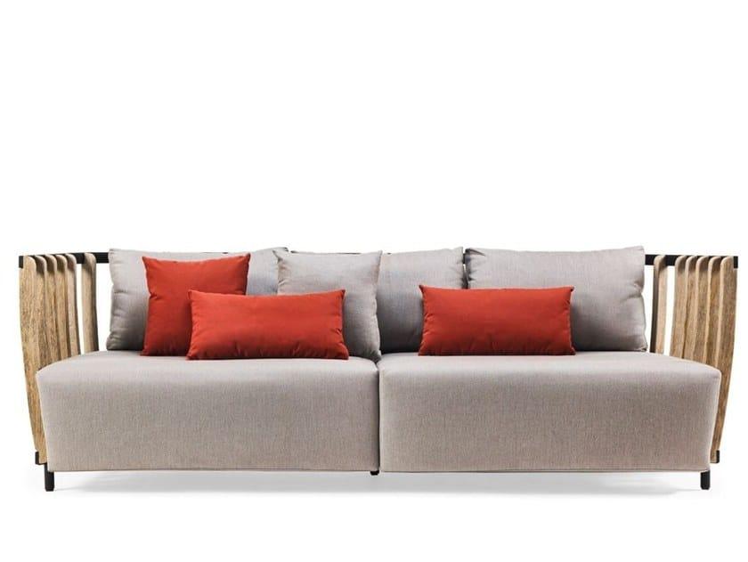 3 Seater Teak Garden Sofa SWING | 3 Seater Garden Sofa By Ethimo
