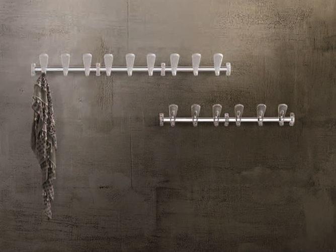 Cabide em aço de parede SWING   Cabide de parede by Caimi Brevetti