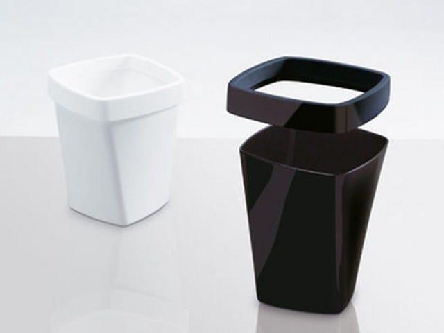 Technopolymer waste paper bin SWING | Waste paper bin by Caimi Brevetti