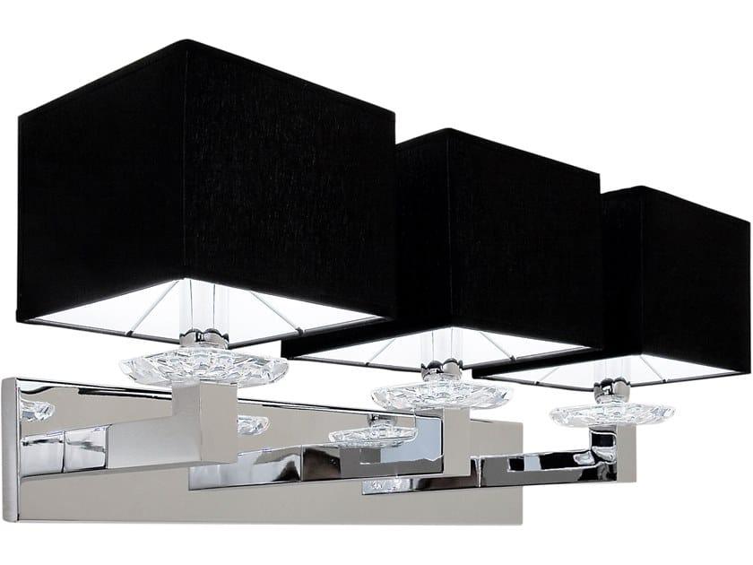 W3 Metallo In Cristalli Lampada Da Ilfari Con Diretta A Swinging Luce Swarovski® Parete Indiretta Ballet E 3jSqcR45AL