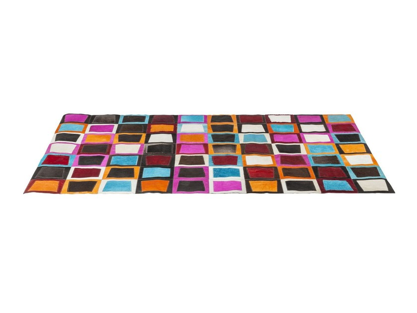 Rectangular rug with geometric shapes SWINGING SEVENTIES by KARE-DESIGN