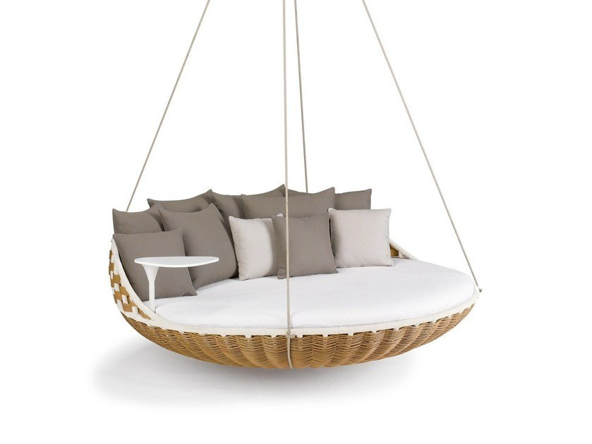 3 Seater garden hanging chair SWINGREST | 3 Seater garden hanging chair by Dedon
