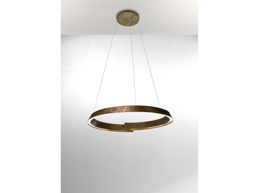 LED pendant lamp SWIRL by Laurameroni