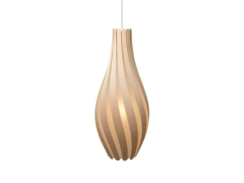 Pendant lamp SWISH   Pendant lamp by David Trubridge