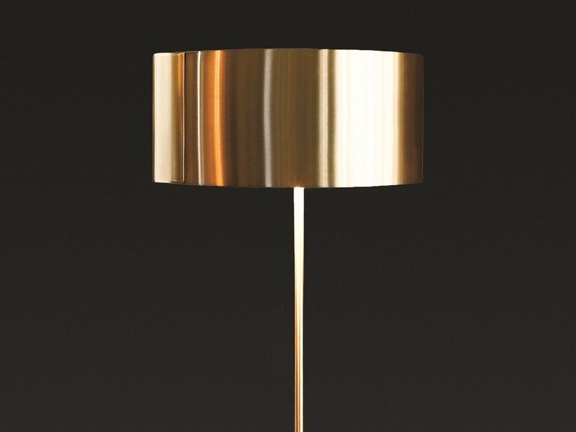 Direct indirect light metal floor lamp switch 306 by oluce