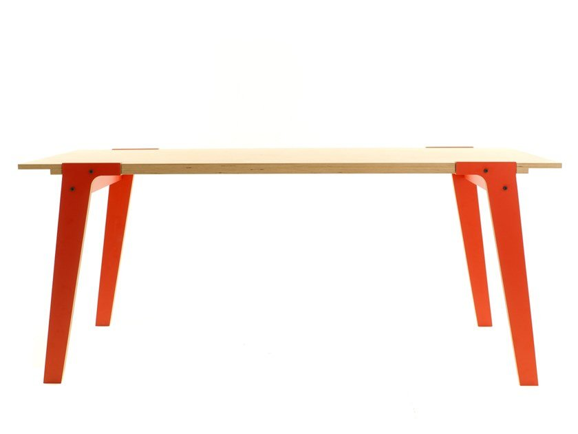 Rectangular dining table SWITCH TABLE S by rform