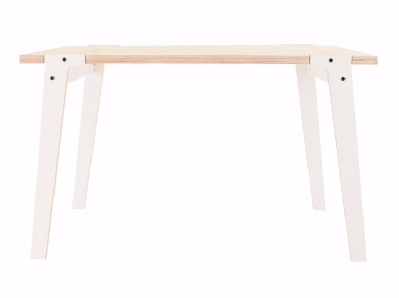 Rectangular multi-layer wood table SWITCH TABLE SMALL by rform