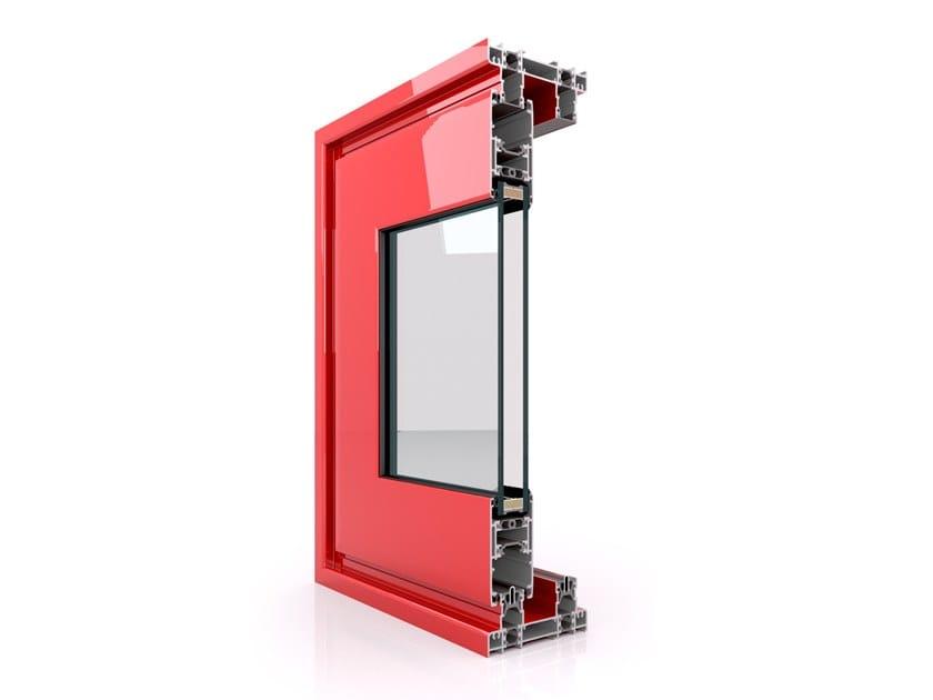 Aluminium thermal break window SX 110 by Twin Systems