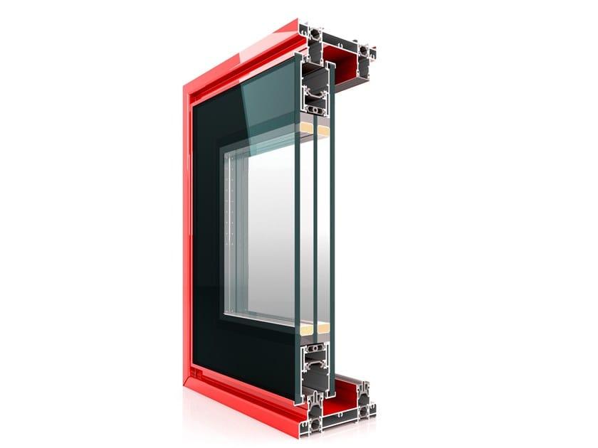 Aluminium thermal break window SX 130 Minimal by Twin Systems