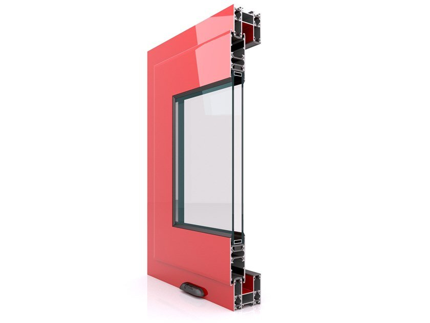 Aluminium thermal break window SX 700 by Twin Systems
