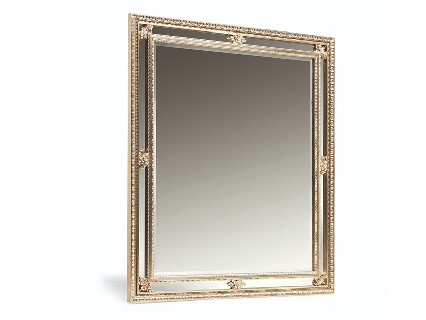 Square wall-mounted framed mirror SYBIL by OPERA CONTEMPORARY
