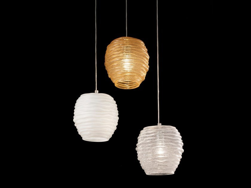 Murano glass pendant lamp SYDNEY LS 607 by Siru