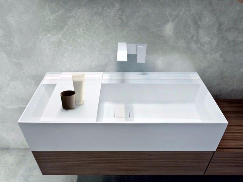 Lavabo da appoggio rettangolare in Tecnoril® SYN | Lavabo in Tecnoril® by LASA IDEA