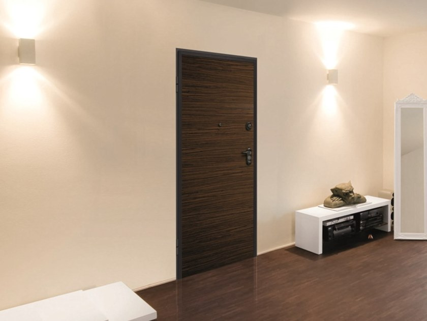 Acoustic metal safety door with electronic lock SYNERGY-IN AT4 by DIERRE