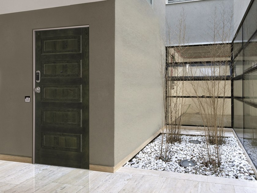 Acoustic fire-rated metal safety door SYNERGY-IN ELETTRA DETECTOR by DIERRE