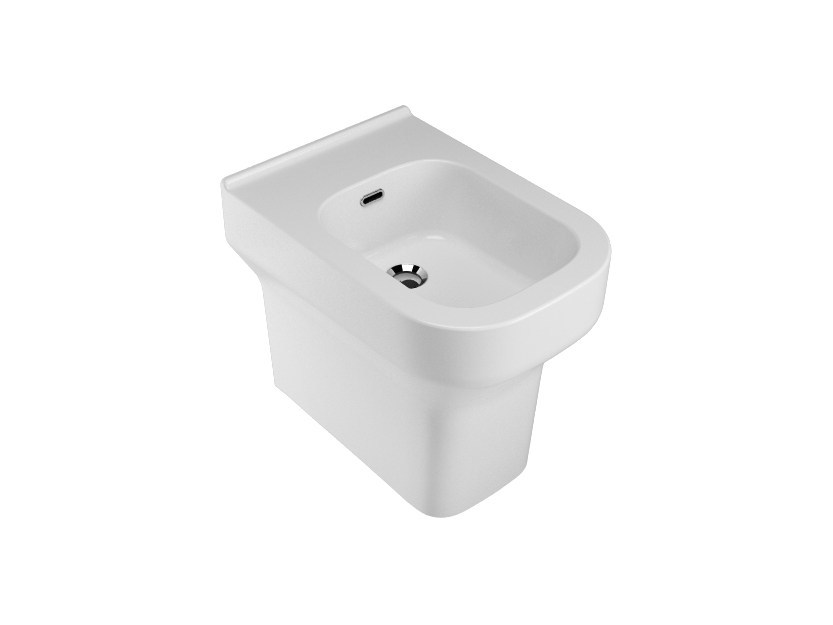 Ceramic bidet with overflow SYNTHESIS   Bidet by Olympia Ceramica