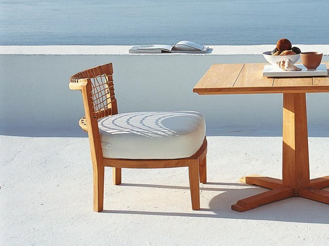 SYNTHESIS | Petit fauteuil de jardin Collection Synthesis By Unopiù