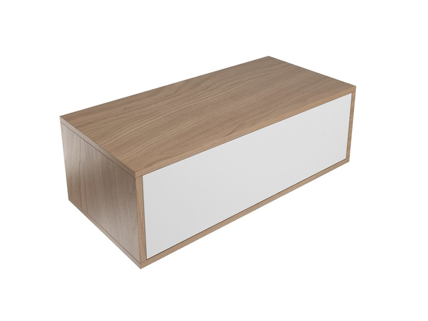 Wooden vanity unit with drawers SYNTHESIS | Vanity unit by Olympia Ceramica