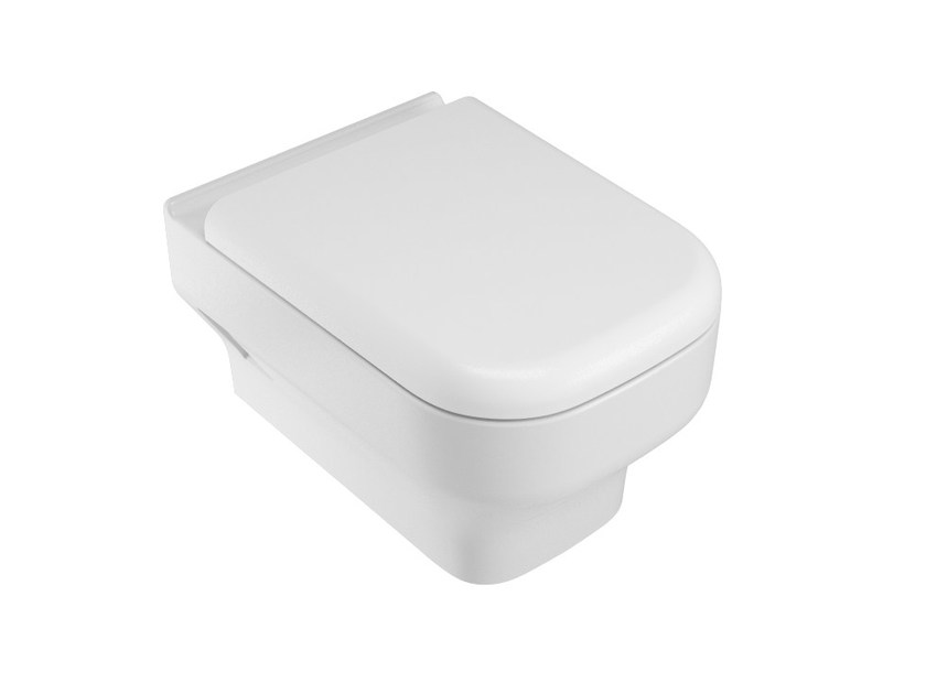 Wall-hung ceramic toilet SYNTHESIS | Wall-hung toilet by Olympia Ceramica