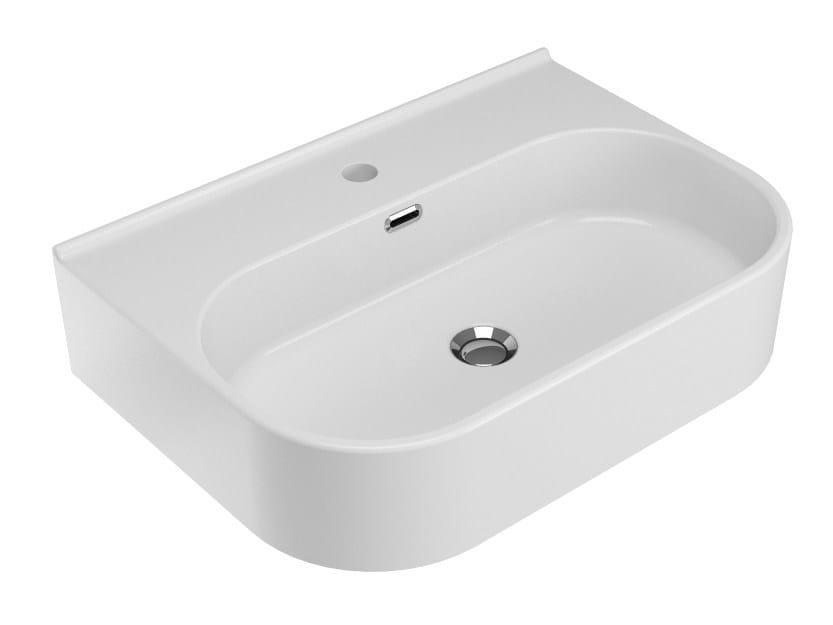 Countertop ceramic washbasin SYNTHESIS | Countertop washbasin by Olympia Ceramica