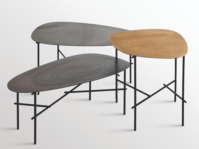 Tavolino in metallo SYRO   Tavolino by DE CASTELLI