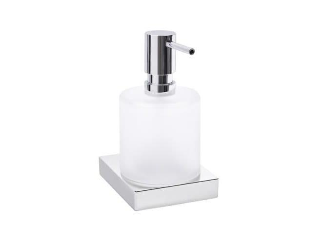 Wall-mounted glass liquid soap dispenser SYSTEM 100 | Liquid soap dispenser by HEWI