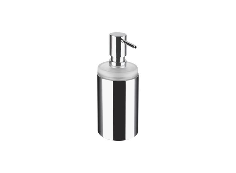 Wall-mounted metal liquid soap dispenser SYSTEM 162 | Liquid soap dispenser by HEWI