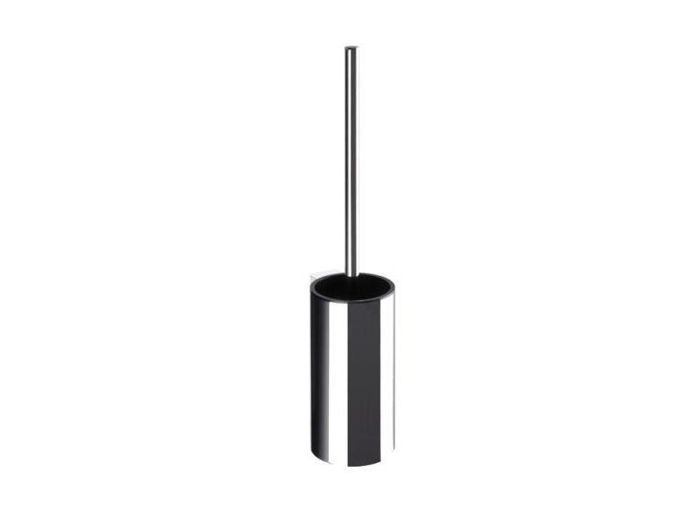 Wall-mounted metal toilet brush SYSTEM 162 | Toilet brush by HEWI