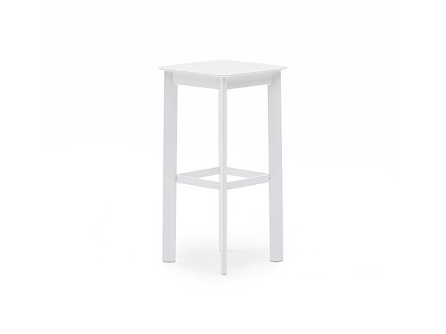 High stool with footrest SYSTEM | High stool by Varaschin