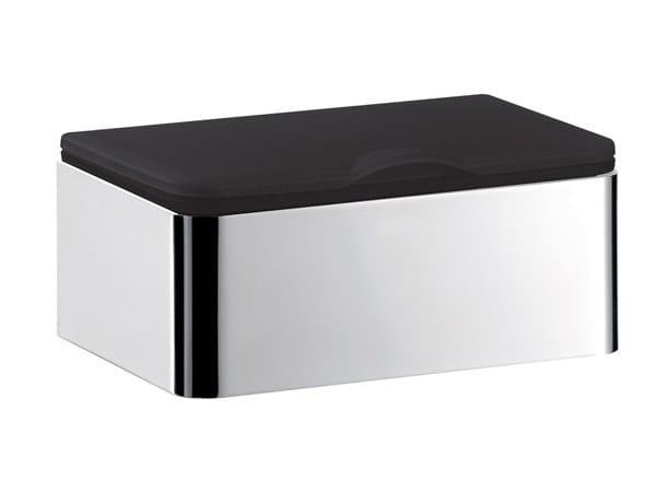 Countertop metal hand towel dispenser SYSTEM2 | Countertop hand towel dispenser by Emco Bad