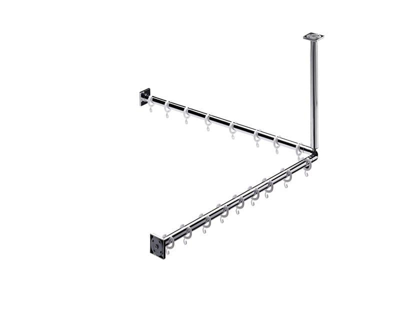 SYSTEM2 | Supporto per tende doccia