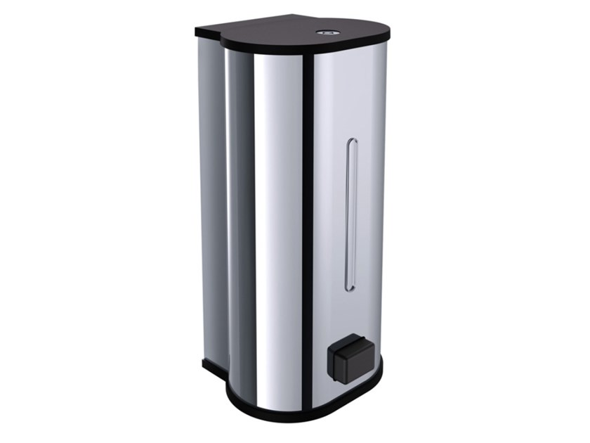 Wall-mounted Bathroom soap dispenser SYSTEM2 | Wall-mounted Bathroom soap dispenser by Emco Bad