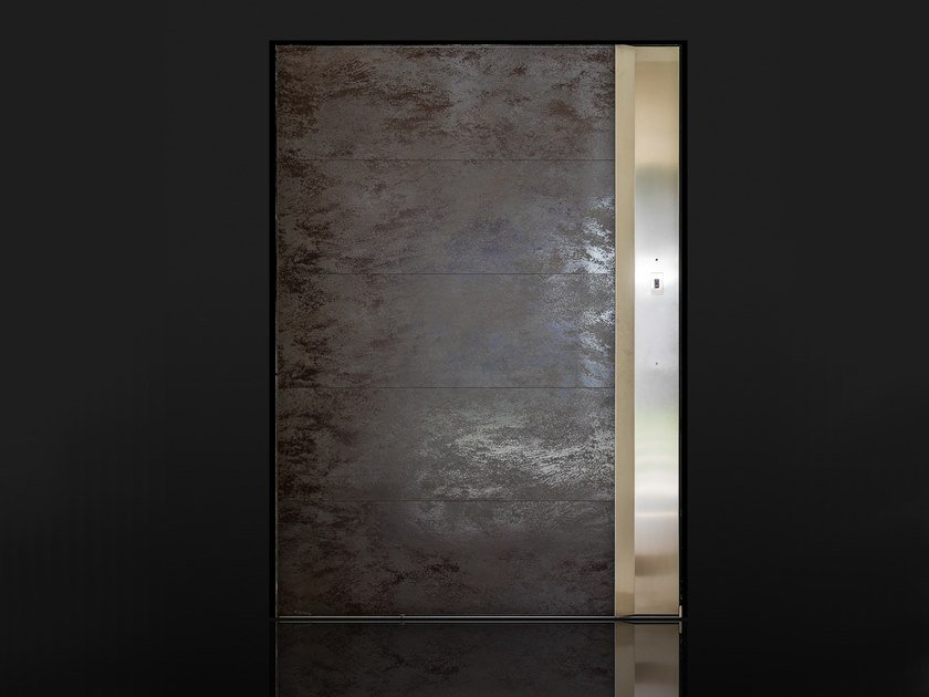 Pivot porcelain stoneware safety door Safety door by Ercole