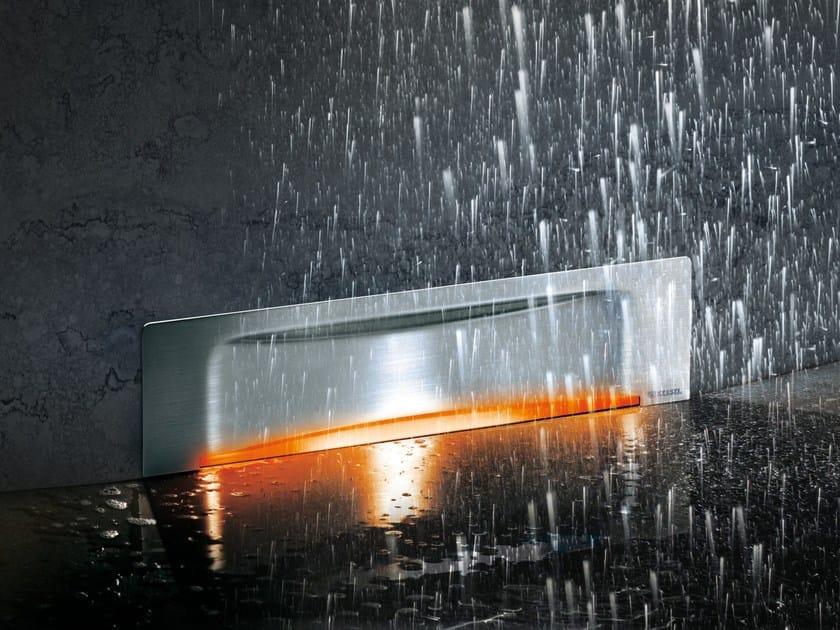 Stainless steel shower channel Wall Drain Scada by Kessel Italia