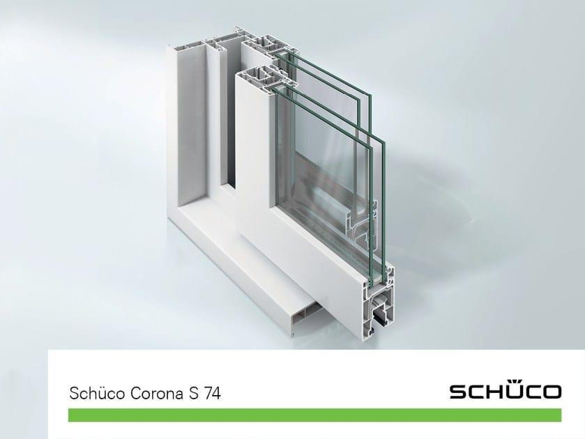 Sistema in pvc per porte per terrazzi e verande sch co - Finestre schuco pvc ...