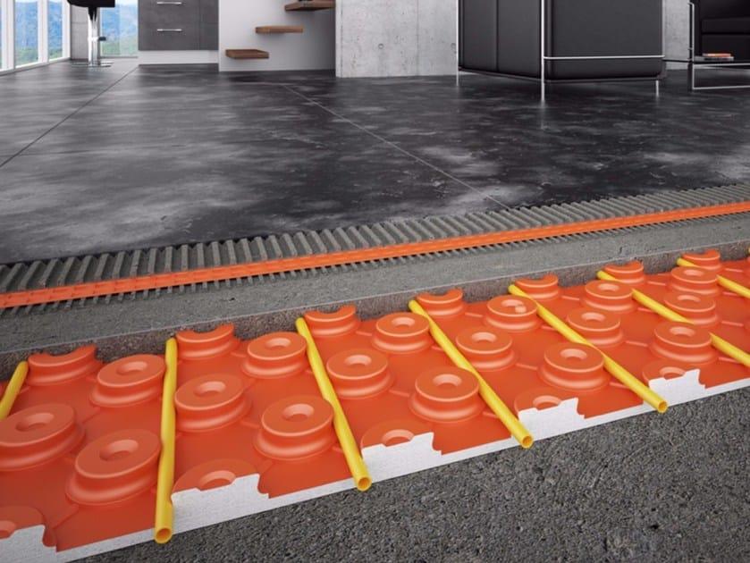 Riscaldamento a pavimento a basso spessore schlüter bekotec therm
