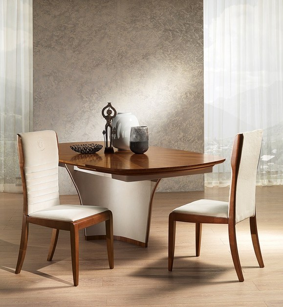 Contemporary style wooden chair Sedia Galileo by Carpanelli Contemporary