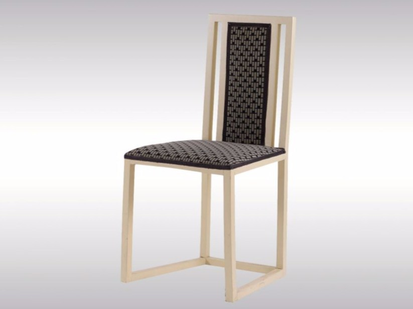 Lacquered beech chair Chair by Woka Lamps Vienna