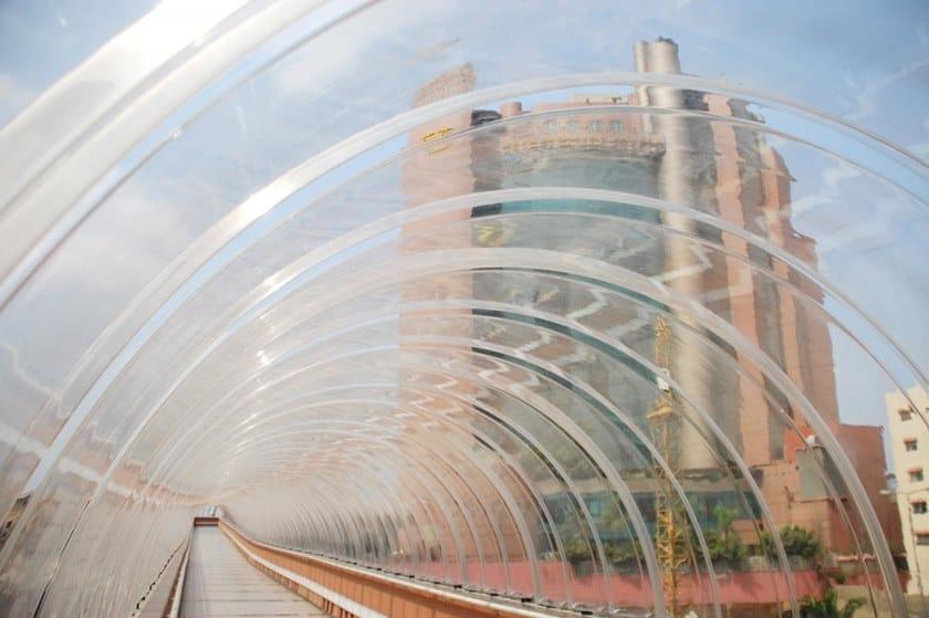 Tunnel componibili autoportanti