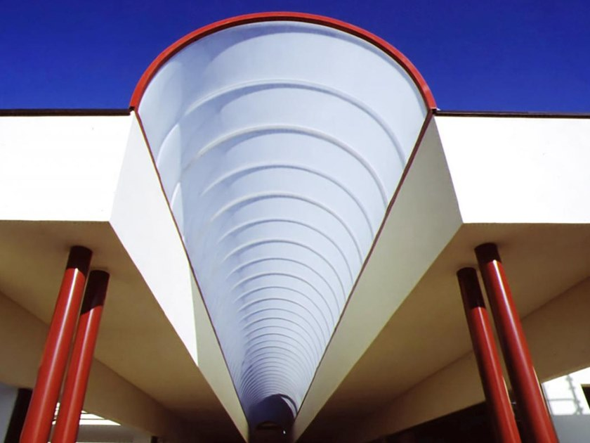 Continuous rooflight Self-supporting Tunnels by CAODURO