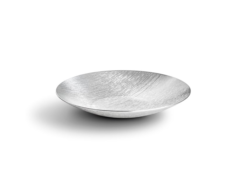 Ciotola decorativa in alluminio DVNE Sfera Deep DVNE 30 Naturale by Alumina