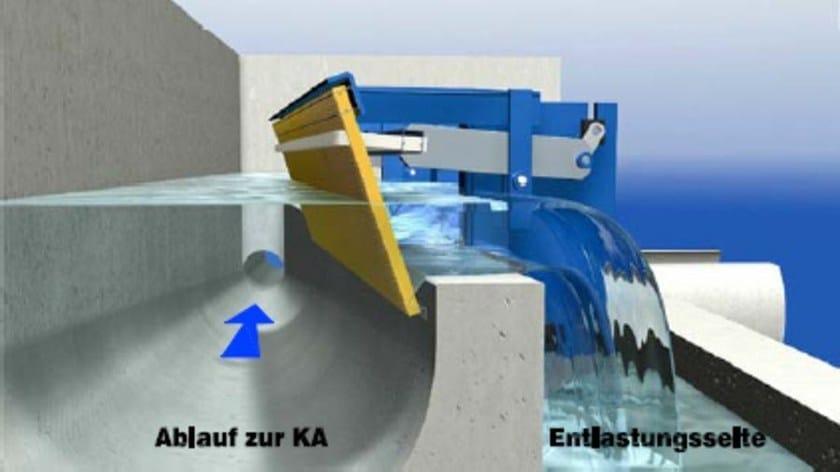 Component for sewer network GIWA-RECHEN by POZZOLI DEPURAZIONE