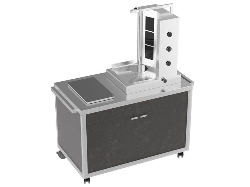 Kebab machine Shawarma cart by La tavola