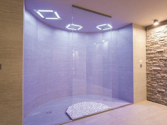 Doccia emozionale orizzontale horizontal shower att by dornbracht