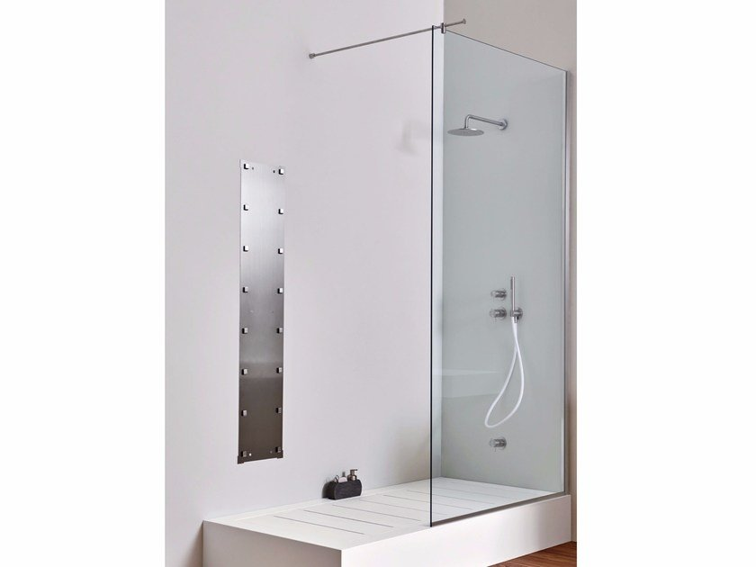 Shower Enclosure corner version - Fixed By Rexa Design